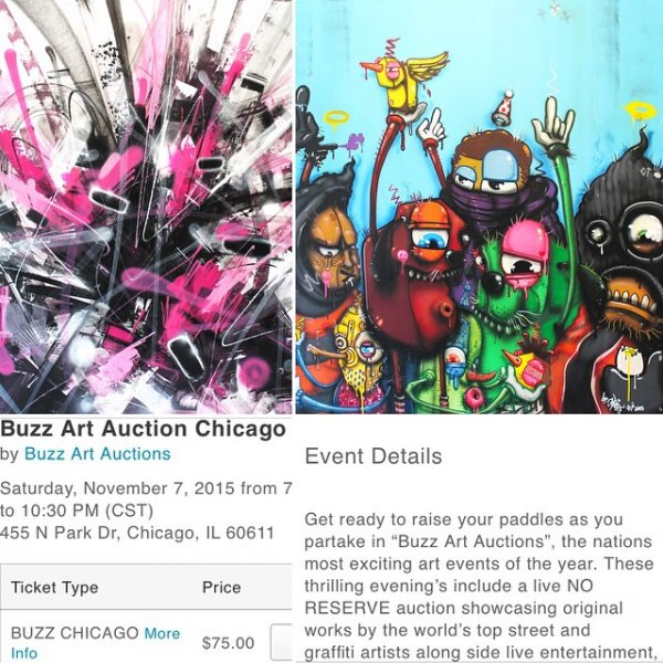 Chicago Street Art Auction