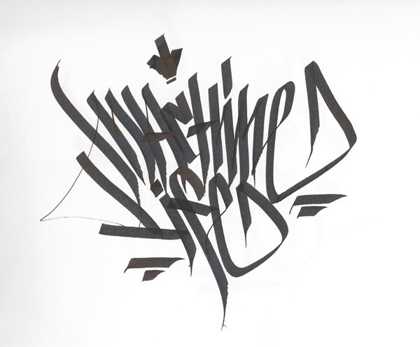 Calligraphy / Calligraffiti Part 1